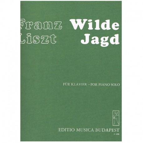 Liszt, Franz Wilde Jagd (Estudios Trancendentales Nº8)