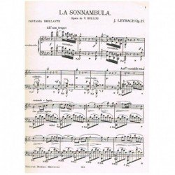 Leybach Sonámbula. Fantasia...
