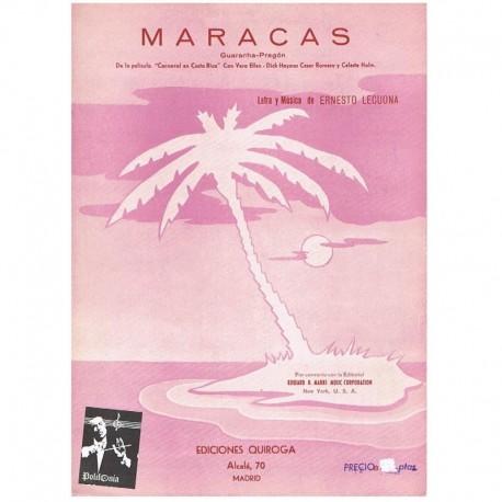 Lecuona, Ern Maracas (Guaracha-Pregon)