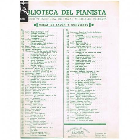 Mendelssohn La Hilandera Op.67 Nº4