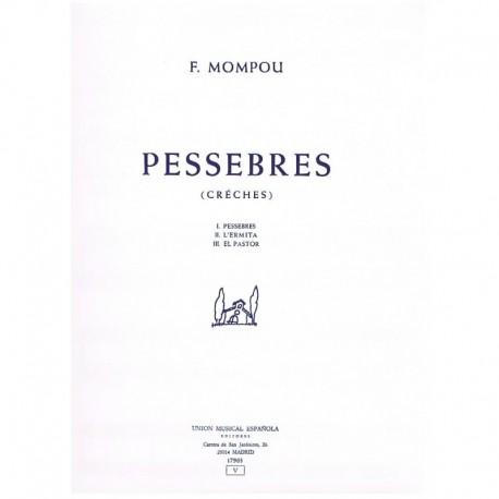 Mompou, Fede Pessebres