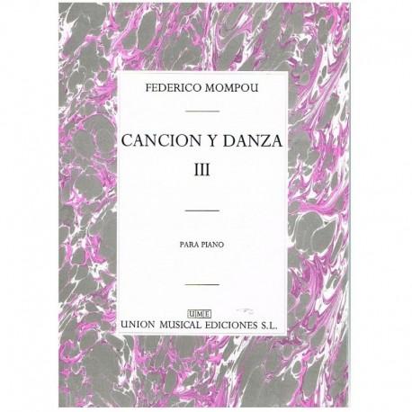Mompou, Fede Cancion y Danza III