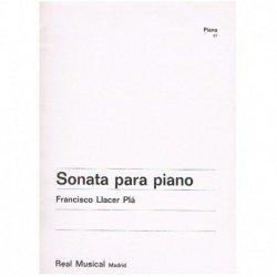 Llacer Plá, Sonata para Piano