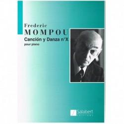 Mompou, Fede Cancion y Danza X