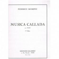 Mompou, Fede Musica Callada Cuaderno nº3