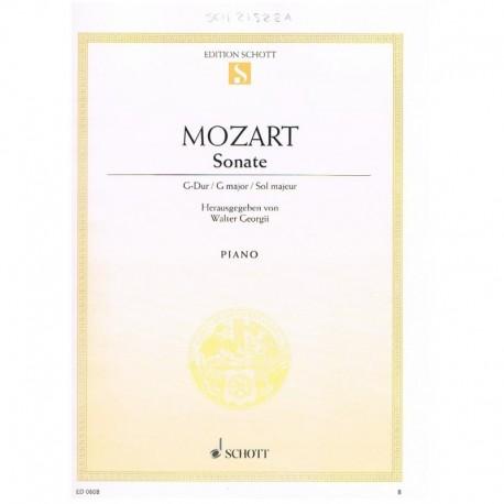 Mozart. Sonata Sol Mayor KV.283