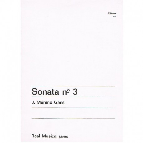 Moreno Gans, Sonata Nº3