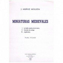 Muñoz Molleda. Miniaturas...