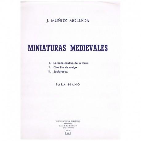 Muñoz Molleda. Miniaturas Medievales