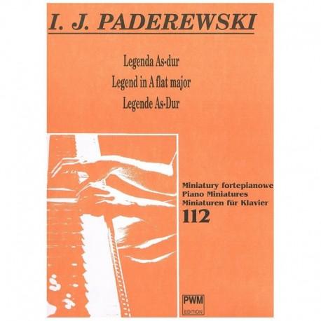 Paderewski Leyenda en Lab Mayor