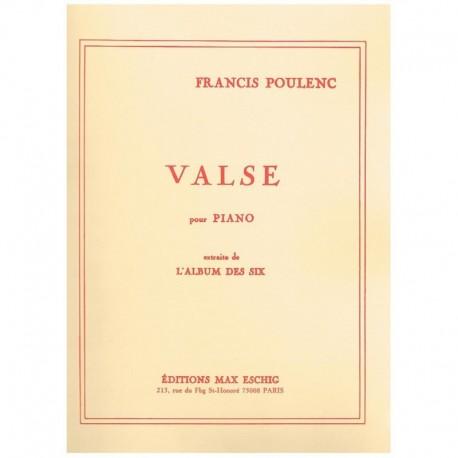 Poulenc, Fra Valse