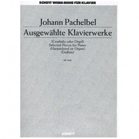 Pachelbel, J Piezas Selectas Para Piano