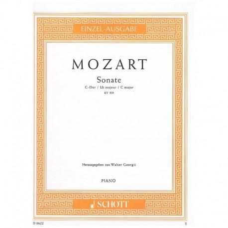 Mozart. Sonata Do Mayor KV.309