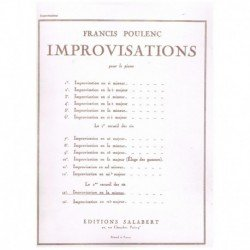 Poulenc, Fra Improvisacion...