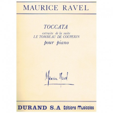 "Ravel, Mauri Toccata (de Le Toumbeau de Couperin)"""""