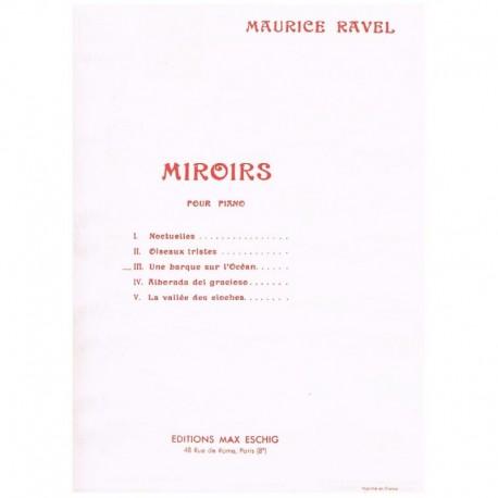 Ravel, Mauri Miroirs Nº3 Une Barque Sur L'Ocean