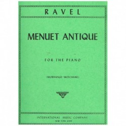 Ravel, Mauri Minueto Antiguo