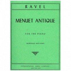 Ravel, Mauri Minueto Antiguo