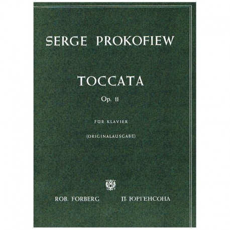 Prokofiev Toccata Op.11