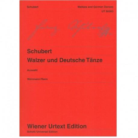 Schubert, Fr Valses y Danzas Alemanas