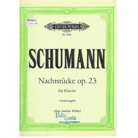 Schumann. Nachtstucke Op.23