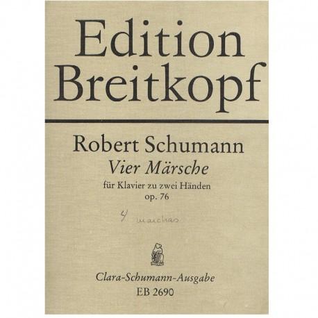 Schumann. 4 Marchas Op.76
