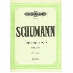 Schumann. Impromptus Op.5