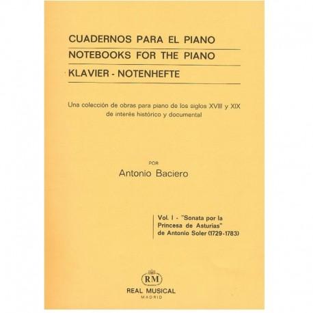Soler. Sonata por la Princesa de Asturias