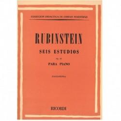 Rubinstein 6 Estudios Op.23