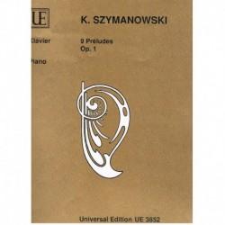 Szymanowski. 9 Preludios Op.1