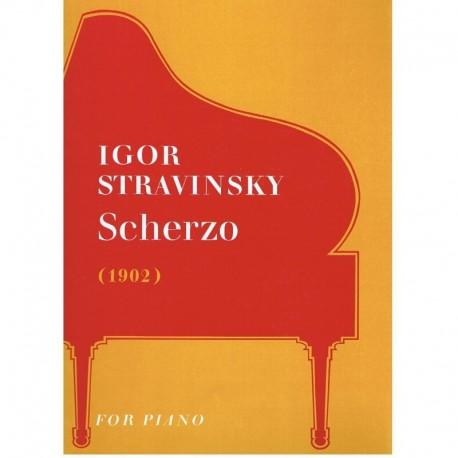 Stravinsky. Scherzo (1902)
