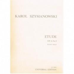 Szymanowski. Estudio Op.4 Nº3