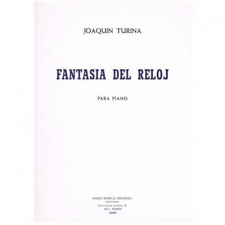 Turina. Fantasía del Reloj