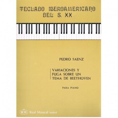 Saenz, Pedro Variaciones y Fuga sobre un Tema de Beethoven