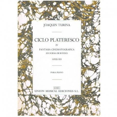 Turina Ciclo Plateresco IV. Fantasia Cinematográfica Op.103