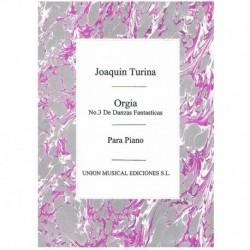 Turina Orgia (Nº3 de Danzas...