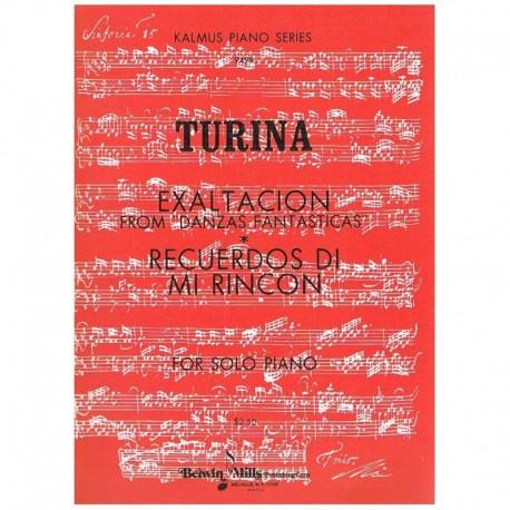 Turina Exaltación/Recuerdos de mi Rincón
