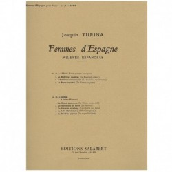 Turina, Joaq Femmes d'Espagne Vol.2 Op.73
