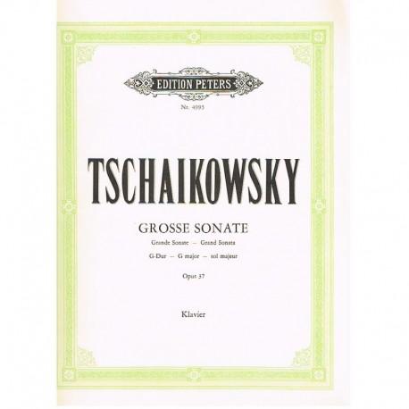 Tchaikovsky. Gran Sonata Sol Mayor Op.37