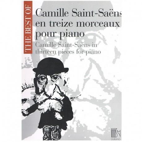 Saint Saens, The Best Of. 13 Piezas para Piano
