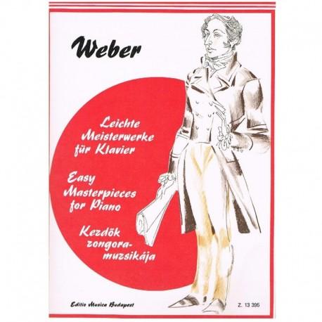 Weber Piezas Fáciles para Piano