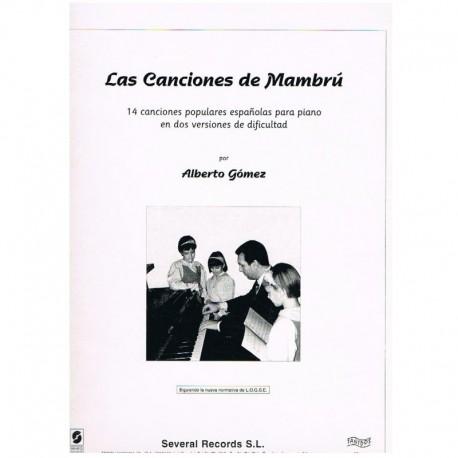 Gómez, Alber Las Canciones de Mambrú