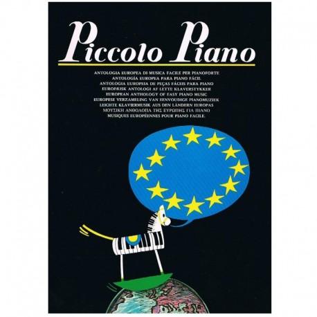 Varios. Piccolo Piano (Antología Europea Piano Fácil)