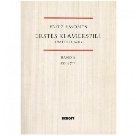 Emonts, Frit Erstes Klavierspiel Vol. 2