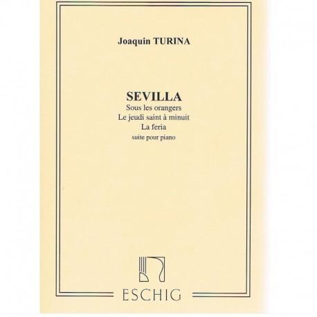 Turina. Sevilla (Suite para Piano)