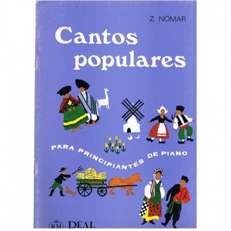Nomar, Z. Cantos Populares para Principiantes de Piano