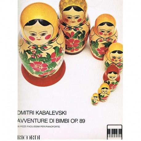 Kabalevski, Aventure di Bimbi Op.89