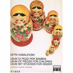 Kabalevski, Album de Piezas...