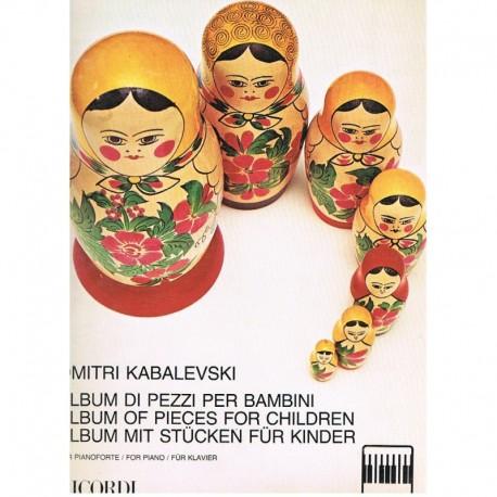 Kabalevski, Album de Piezas para Niños