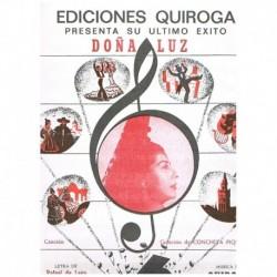 León/Quiroga Doña Luz (Canción)